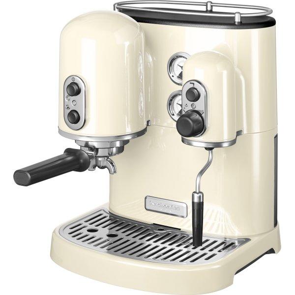 KitchenAid espressomaskine, Cremefarvet