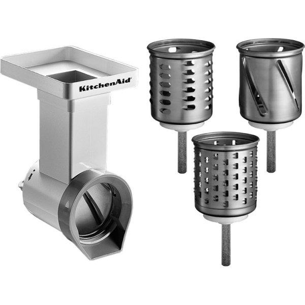 KitchenAid Råkostjern inkl. 3 tromler, hvid/stål