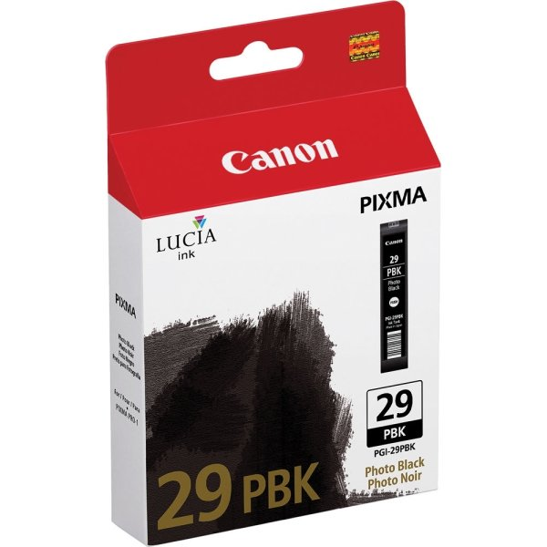 Canon PGI-29PBK blækpatron photo sort