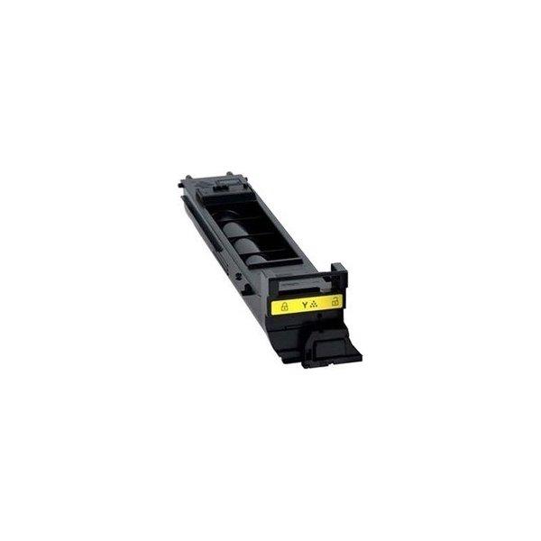 Konica Minolta A0DK253 lasertoner, gul, 8000s