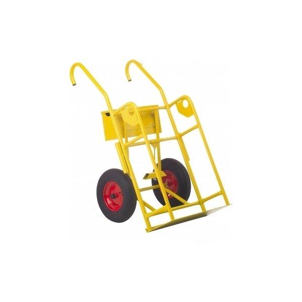 Ravendo ilt- og gasvogn 121 liter, massive hjul