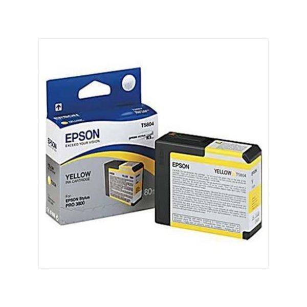 Epson C13T580400 blækpatron, gul, 80ml