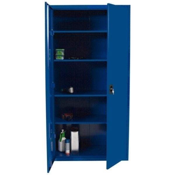 Opbevaringsskab model midi blå
