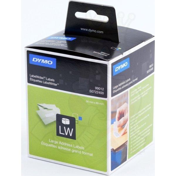 Dymo LW adresseetiket 36x89 mm
