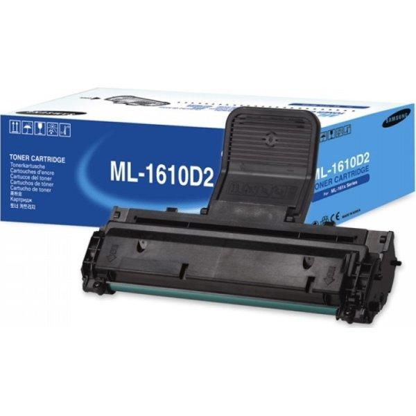 Samsung ML-1610D2/ELS lasertoner, sort, 2000s