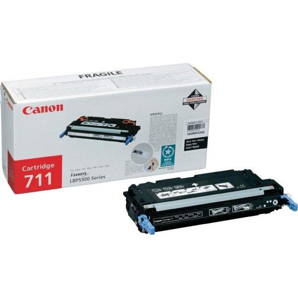 Canon nr.711BK/1660B002AA lasertoner, sort, 6000s
