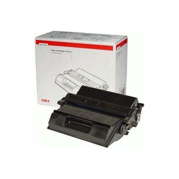 OKI 09004461 lasertoner, sort, 13000s
