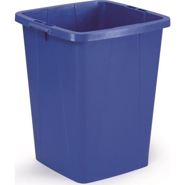 Affaldsspand 90 l, 510x487x630, Blå