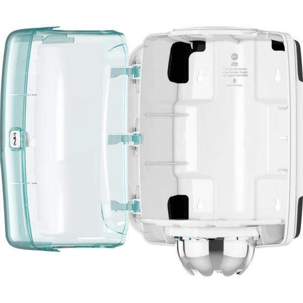 Tork M2 Dispenser Aftørringspapir, turkis/hvid