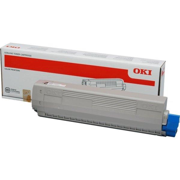 OKI 46443104 lasertoner, sort, 10.000s.