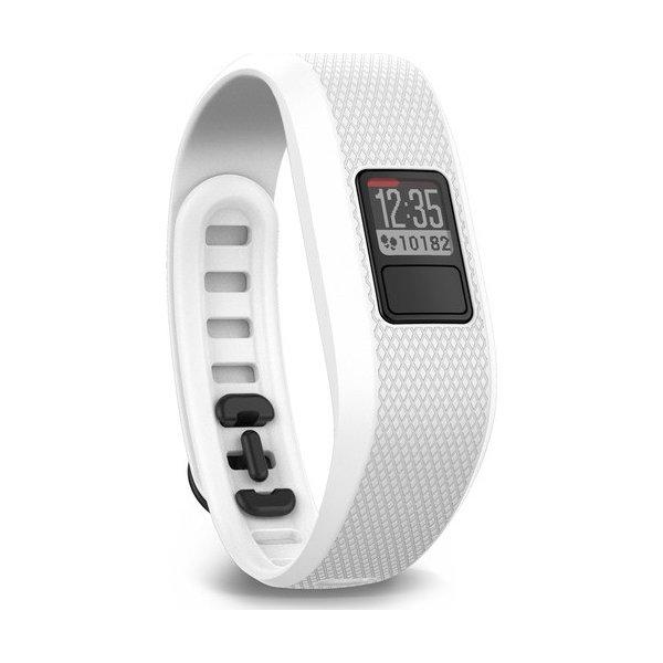 Garmin Vivofit 3 aktivitetsarmbånd i hvid/regular