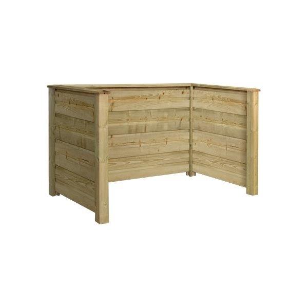 Plus Plank Profil Renovationsskjuler, Natur