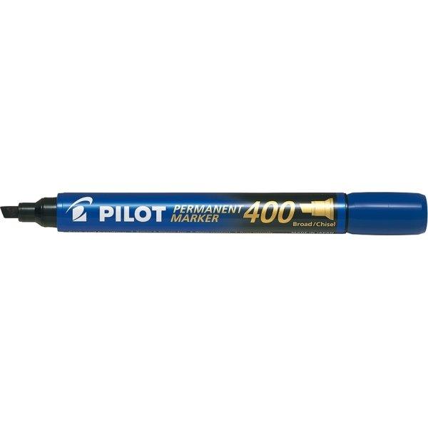 Pilot 400 permanent marker, blå