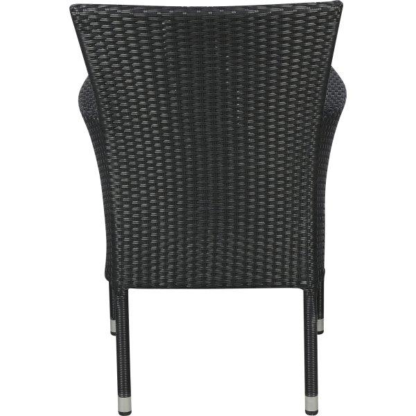 Napoli havemøbelsæt til 6 pers. - luksusstole