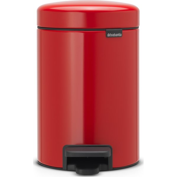 Brabantia Pedalspand 3 L, passion red