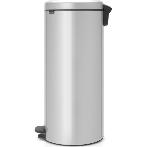 Brabantia Pedalspand, 30 L, metallic grey