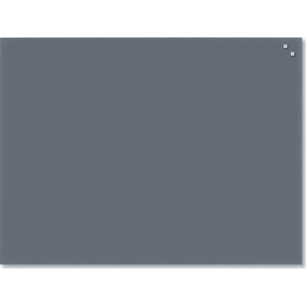Sidste nye NAGA Glassboard magnetisk glastavle 60x80 cm, grå - Lomax A/S RH-19