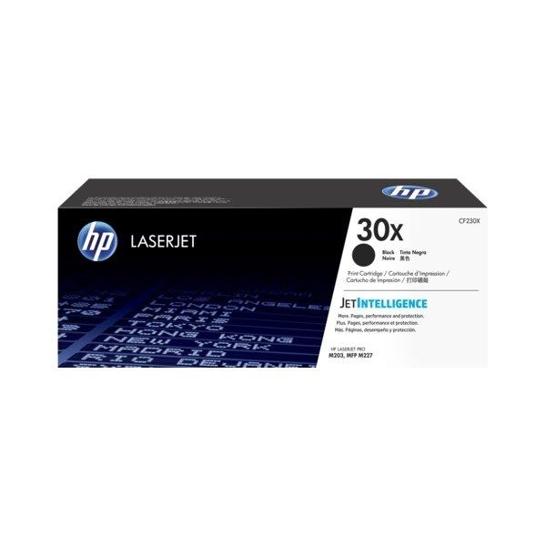 HP 30X/CF230X Lasertoner, sort, 3500s