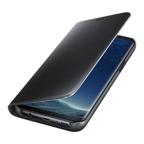 Samsung Galaxy S8+ Clear View Cover, sort