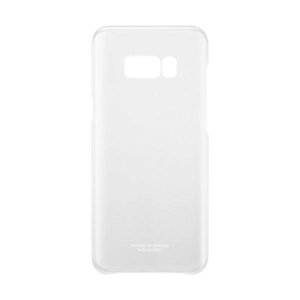Samsung Galaxy S8+ Clear cover, transparent sølv