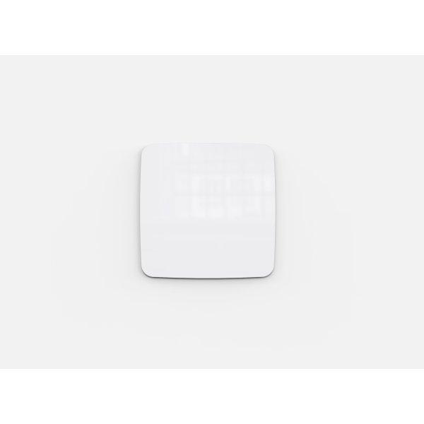 Lintex Mood Flow, 100 x 100 cm, hvid