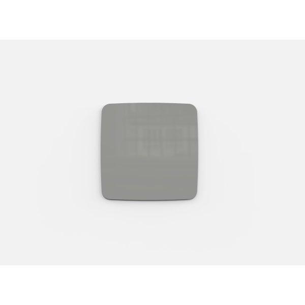 Lintex Mood Flow, 30 x 30 cm, lysegrå Shy