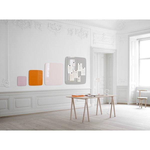 Lintex Mood Flow, 100 x 100 cm, lysegrå Shy