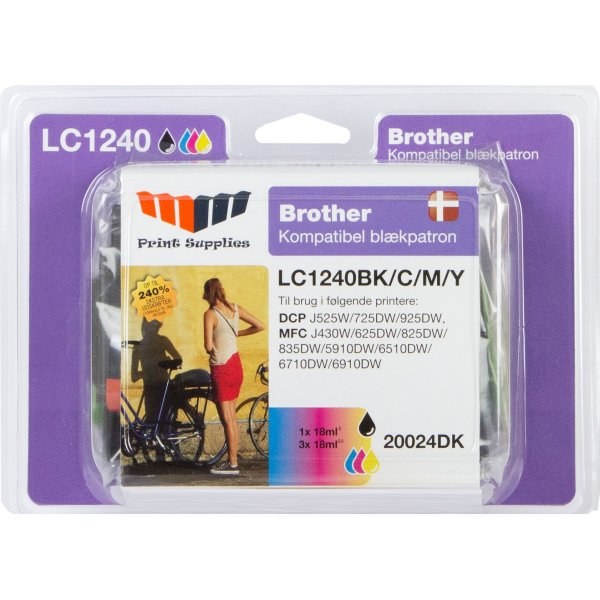 MM Value Pack LC1240 - Brother LC1240VALBP