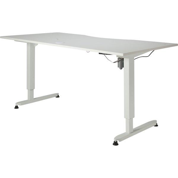 Stay hæve/sænkebord hvid/hvid 180x90 cm