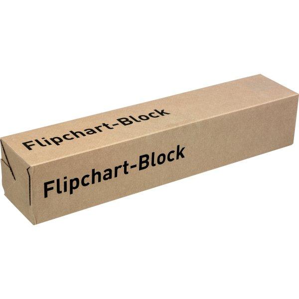Bantex flipoverpapir 680X930 kvadreret/blank