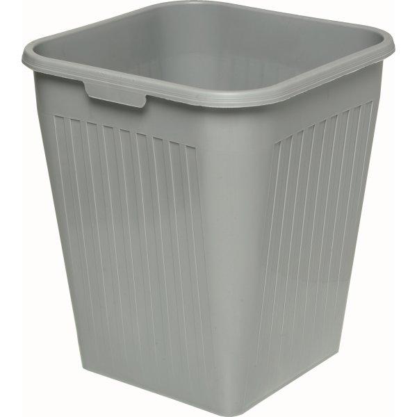 Bantex Orth papirkurv, 25 liter, grå