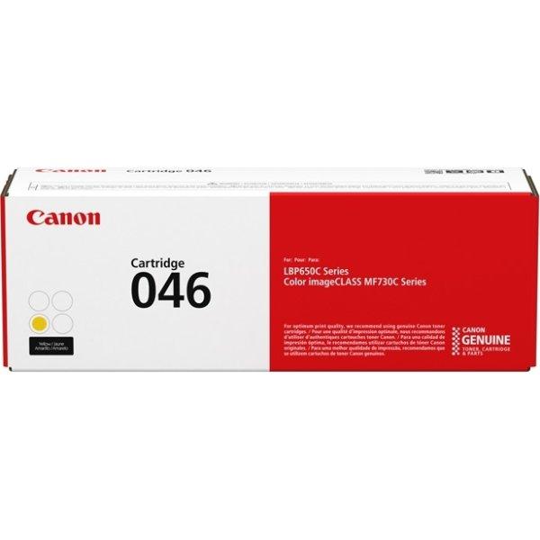 Canon 046/1247C002 Lasertoner 2300 sider, gul