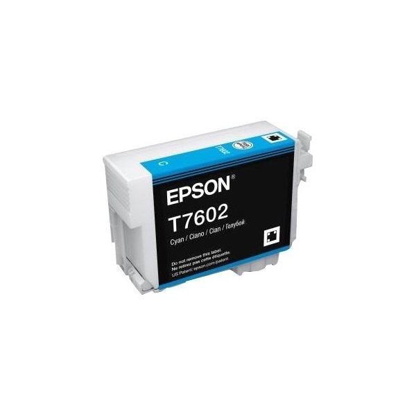 Epson T76024010 blækpatron 26ml, cyan