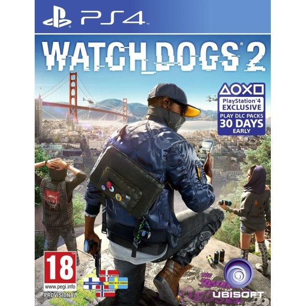 Fin Watch Dogs 2 til PS4 - Lomax A/S MD-89