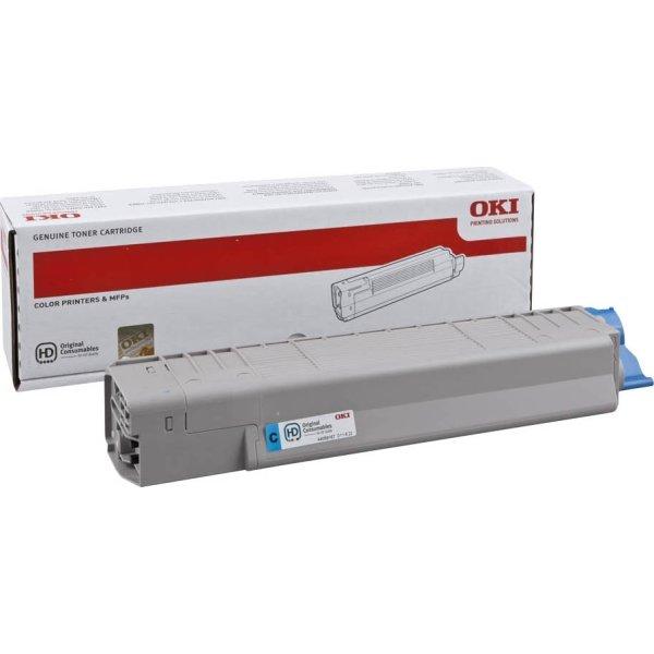 OKI 44059167 lasertoner, blå, 7300s