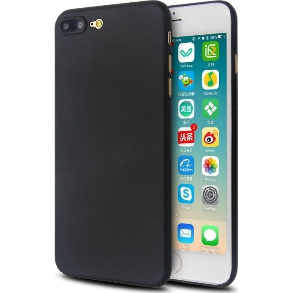 Twincase iPhone 8 Plus case, sort