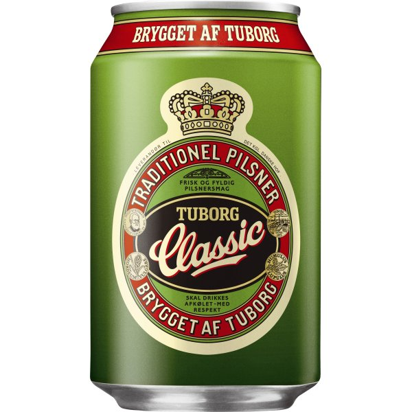 Tuborg Classic 33 cl inkl. pant