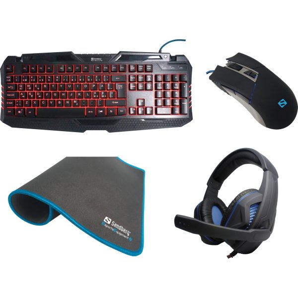 Sandberg Gaming Starter Kit (Nordisk)