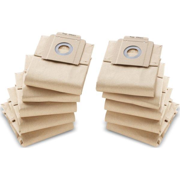 Kärcher Støvsugerposer papir, 10 stk.