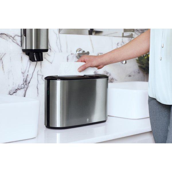 Tork H2 Dispenser Håndklædeark, bord, stål