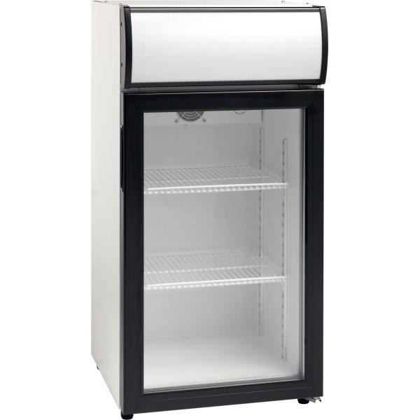 Scandomestic SC 81 Displaykøleskab, 80 liter