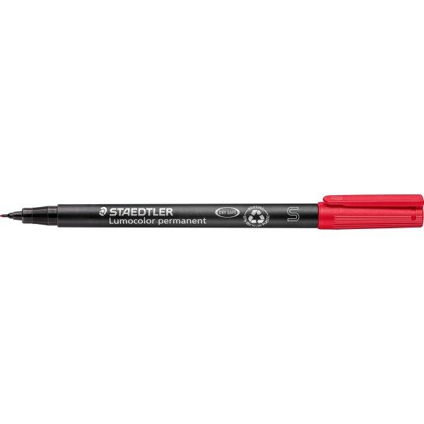 Staedtler Lumocolor universal marker 0,4mm, rød