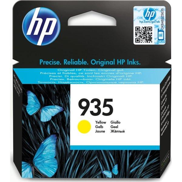 HP No935 blækpatron, blister, gul, 400s