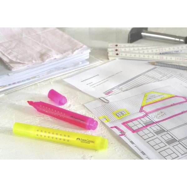 Faber-Castell Grip Textliner, 4 stk.