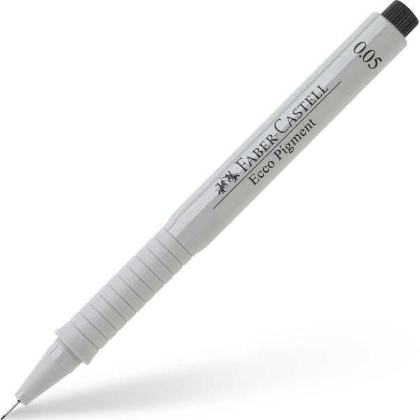 Faber-Castell Ecco Pigment Finepen 0,05 mm, sort