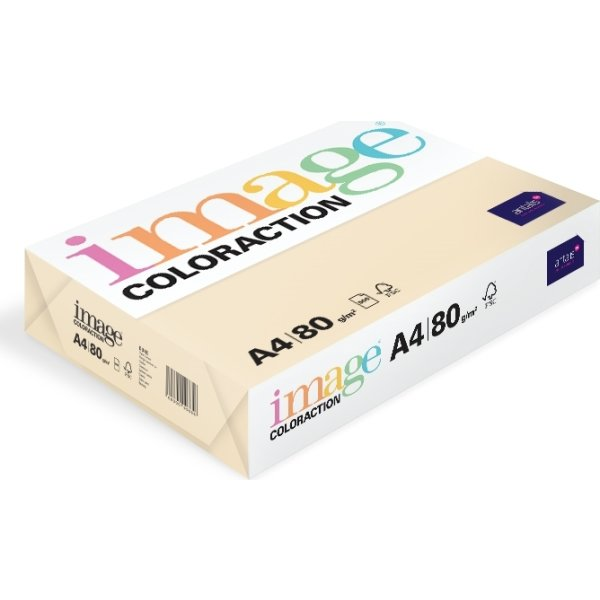 Image Coloraction A4, 80g, 500ark, cream