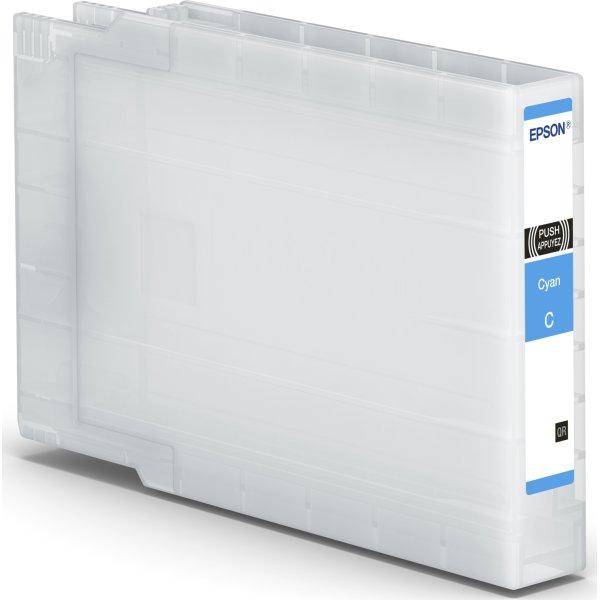 Epson WF-C8190/C8690 blækpatron, XL, cyan