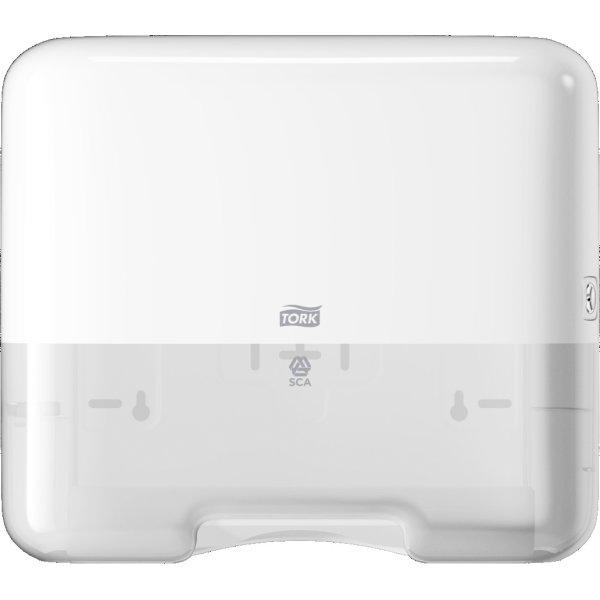 Tork H3 Mini Dispenser Håndklædeark, hvid