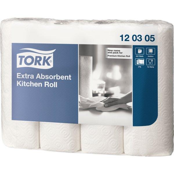 Tork Ekstra Soft køkkenrulle, 3-lags, 48 ruller