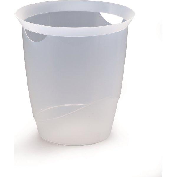 Durable Trend Papirkurv, transparent
